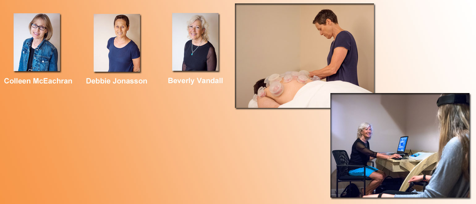Counselling, Acupuncture, Biofeedback